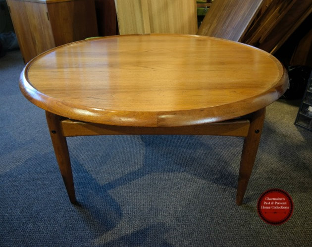 SOLD!! AMAZING DANISH MODERN TEAK FLIP TOP COFFEE TABLE BY INGVARD JENSEN...$999.00