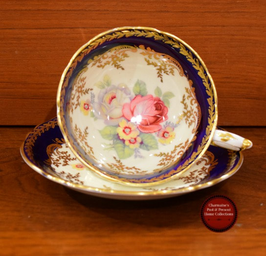 SOLD!! BEAUTIFUL VINTAGE PARAGON DOUBLE WARRANT CUP AND SAUCER...$40.00