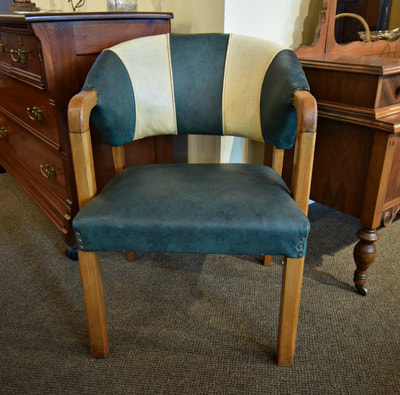 GREAT VINTAGE PUB STYLE CHAIR...$99.00