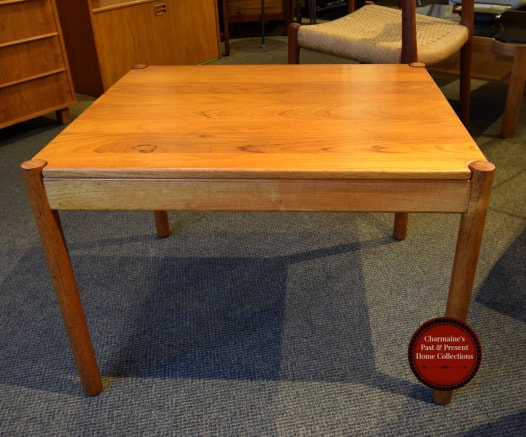GREAT DANISH MODERN SOLID TEAK END TABLE BY MAGNUS OLESEN...$499.00