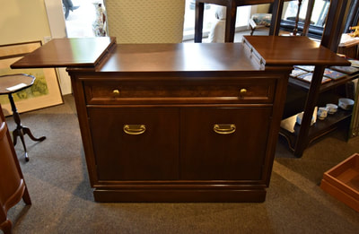 GREAT VINTAGE SERVER WITH FOLDING TOP...$449.00