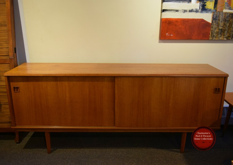SOLD!! AWESOME MID-CENTURY MODERN TEAK SIDEBOARD...$699.00