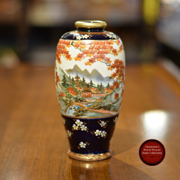 BEAUTIFUL VINTAGE SATSUMA VASE...$149.00