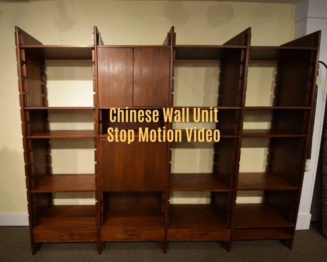 Stop motion video of this cool fully adjustable Chinese wall unit