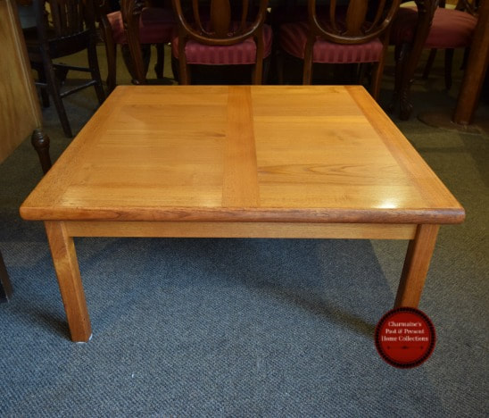 GREAT MID-CENTURY MODERN TEAK COFFEE TABLE...$299.00