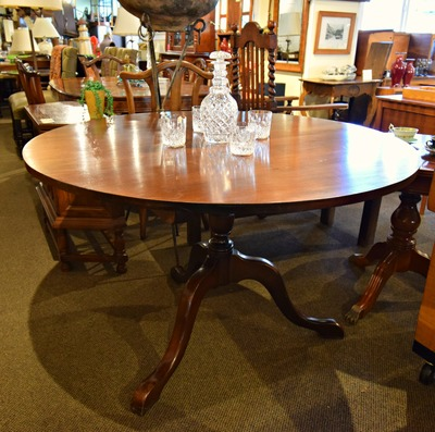 HANDSOME JAMAICAN MAHOGANY TABLE...$449.00