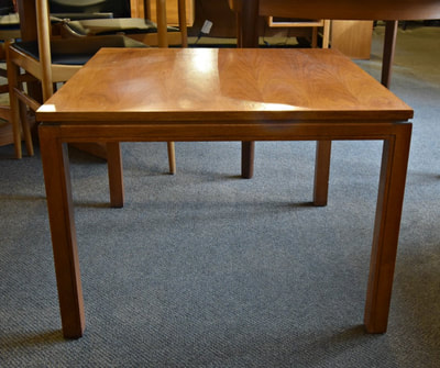 GREAT SQUARE MID-CENTURY MODERN TEAK COFFEE OR END TABLE...$149.00