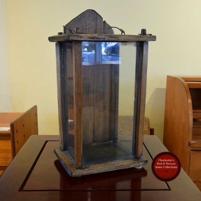AMAZING RARE ANTIQUE QUEBEC LANTERN...$199.00