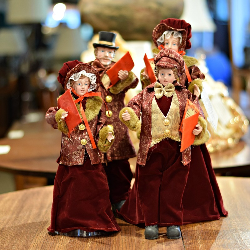 FABULOUS CAROLER SET...$149.00