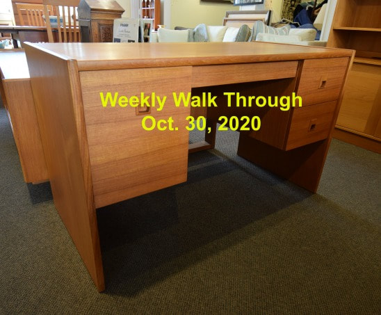 WEEKLY WALK TROUGH OCTOBER 30, 2020