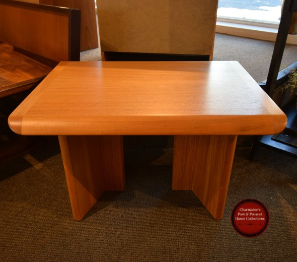 AWESOME MID-CENTURY MODERN TEAK END TABLE...$299.00