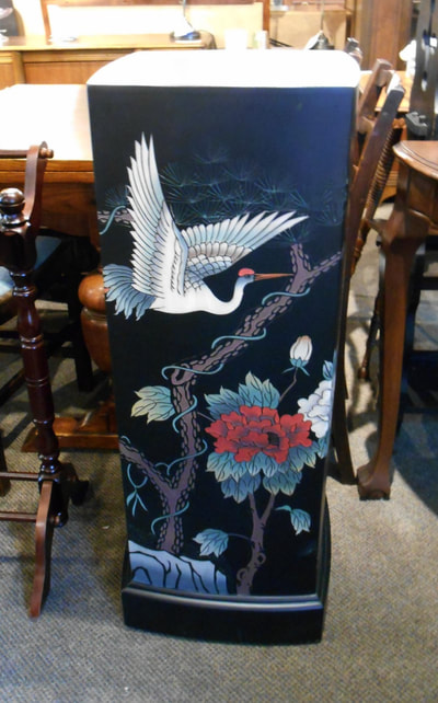 FABULOUS ASIAN CHINOISERIE PLYNTH...$249.00