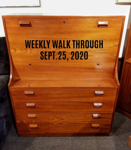 WEEKLY WALK THROUGH SEPT. 25, 2020