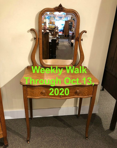 WEEKLY WALK THROUGH OCT. 13, 2020